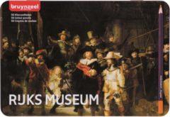 Koninklijke Talens B.V Bruynzeel Hollandse Meesters blik 50 kleurpotloden - De Nachtwacht van Rembrandt
