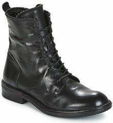 Zwarte Laarzen Mjus PAL LACE
