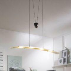 Wohnling Pendelleuchte LED-Lampe 4-flammig Deckenleuchte Design Hängelampe Chrom Wohnzimmerlampe modern Hängeleuchte