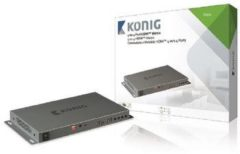 König Electronic König 4 x 4-Port HDMI Matrix Switch - Video-/Audio-Splitter KNVMA3444