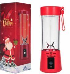 Easyblender- Blender- Easyblends Pro- Rood- Draagbaar- Kersteditie- Kerstcadeau