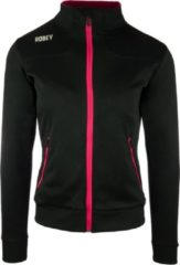 Robey Women Striker Trainingsjack - Voetbaljas - Black/Fuchsia - Maat L