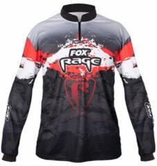 Rode Fox Rage Performance Long Sleeve - Shirt - Maat XXL