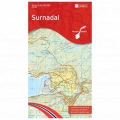 Nordeca - Wander-Outdoorkarte: Surnadal 1/50 Auflage 2015