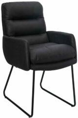Feel Furniture - Eetkamerstoel - Collin - Zwart