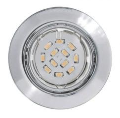 EGLO Peneto - Inbouwspotje - LED - Ø87mm. - Chroom - Richtbaar