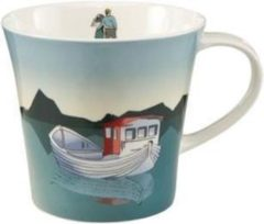Scandic Home Goebel Quality: Fishing Boat Coffee/Tea Mug