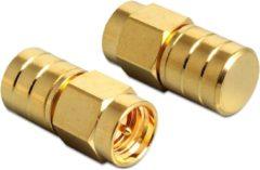 DeLOCK 88712 kabeladapter/verloopstukje SMA Goud