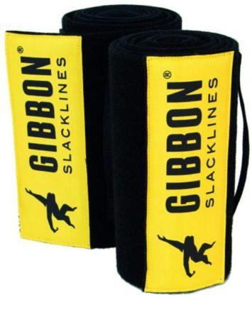 Afbeelding van Gibbon Slacklines - Tree Wear XL - Boombescherming maat 2 x 200 cm, geel/zwart