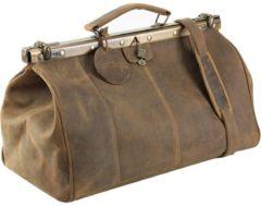 Antik Bügel-Reisetasche Leder 45 cm Harold's natur