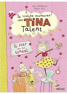 Afbeelding van Zuid-Nederlandse Uitgeverij N.V. / Centrale Uitgeverij Deltas De vrolijke avonturen van Tina Talent - De ster van het toneel