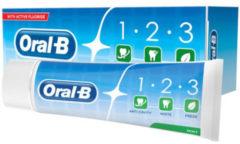 Oral-B Oral B Tandpasta 123 mint 75 Milliliter