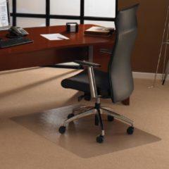 Transparante Floortex vloermat Cleartex Ultimat voor tapijt rechthoekig formaat 119 x 75 cm