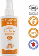 Alphanova Natuurlijke zonnebrandspray Baby's factor 50