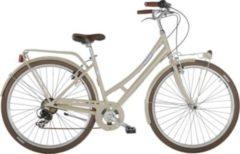 28 Zoll Damen City Fahrrad 7 Gang Alpina Velvet... creme