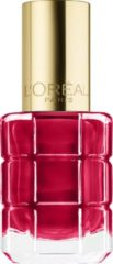 Rode L'Oréal Paris L'Oréal Paris Color Riche - is 440 Cherie Macaron - Rood - Nagellak