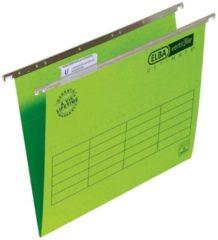 ELBA Hangmappen Ultimate A4 Groen Karton V-bodem 23 5 x 33 cm 25 Stuks