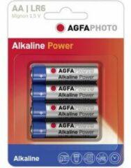 AgfaPhoto LR06 AA batterij (penlite) Alkaline 1.5 V 4 stuk(s)
