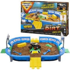 SPINMASTER Monster Jam 1:64 Dirt Arena Playset // 10 (3696704)