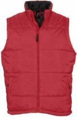 Bodywarmer Sol's Warm - rood - XL