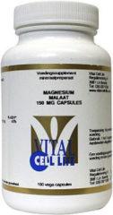 Vital Cell Life Magnesium Malaat 150 Mg (100vc)