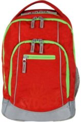 """Original Syderf """"five"""" Schulrucksack Schulranzen Schultasche Design: Red Neon Grün"""