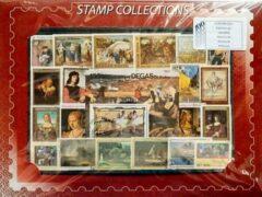 Sam's Collection Thematisch Postzegelpakket Schilderijen