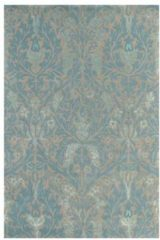 Beige Morris & Co - Laagpolig vloerkleed Morris & Co Autumn Flowers Eggshell 27508 - 140x200 cm