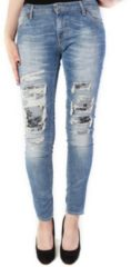 Blauwe Please Jeans p95 light blue blauw
