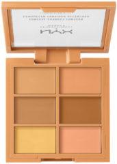 NYX Professional Makeup NYX Professional Make-Up - 3c - Palette zum Abdecken, Korrigieren, Konturieren - Mehrfarbig