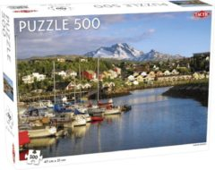 Tactic Puzzel Around the World Northern Stars: Narvik Harbor - 500 stukjes