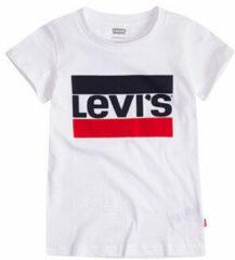Witte T-shirt Korte Mouw Levis SPORTSWEAR LOGO TEE