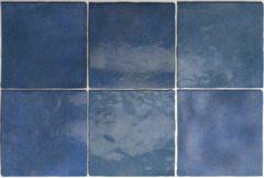 SaniGoods Wandtegel Artisan Colonial Blue 13,2x13,2