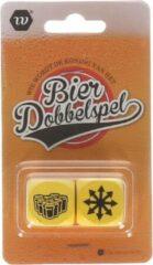 Gele Stemen Dobbelsteen spel - kan het ook spelen met frisdrank of water