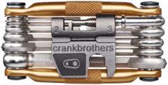 Gouden Crank Brothers multigereedschap (17 functies) - Multigereedschap