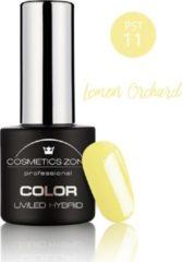 Cosmetics Zone UV/LED Hybrid Gel Nagellak 7ml. PST11 Lemon Orchard