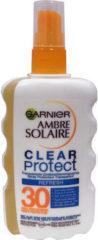 Garnier Ambre Solaire Clear Protect Refresh - Transparente Zonbeschermingsspray SPF30 - 200ml - Hoge Beschermingfactor