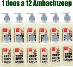 Ambachtscreme Ambachtszeep doos a 12 stuks, milde zeep, zachte zeep, vloeibare zeep