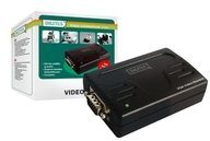 DIGITUS VGA booster DS-53900-1 - Video Extender - HD D-Sub (HD-15) DS-53900-1