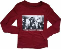 Bordeauxrode Little Eleven Paris longsleeve maat 128