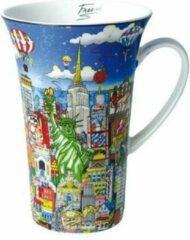 Charles Fazzino Ballon Ride over New York - Artist Mug
