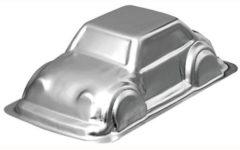 Zilveren Wilton 3D Auto Bakvorm
