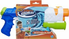 Blauwe NERF Super Soaker Scatter Blast - Waterpistool