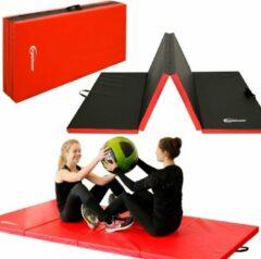 Rode Eyepower Opvouwbare zachte vloermat rg20 dikke vloer gymnastiekmat sport mat draagbare xl mat