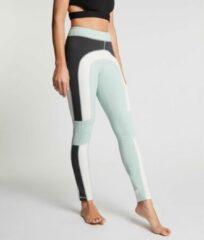 Zwarte Zense Sportswear Zense - Dames Yoga Legging Leah Colorblock - Blauw - L
