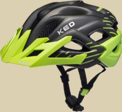 KED Status Jr. Unisex Fahrradhelm Kopfumfang S 49-54 green black matt