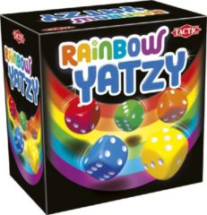 Tactic dobbelspel Rainbow Yatzy junior 12,4 x 8 cm