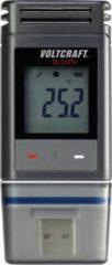 Grijze VOLTCRAFT DL-210TH Temperature data logger, RH data logger Unit of measurement Temperature, Humidity -30 up to +60 °C 0 up to 100 RH PDF generator