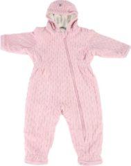 Lodger Baby Winterpak 0-3 maanden - Skier Empire - Dubbellaags - Gevoerd met Fleece - Diagonale Rits - Goed Aansluitende Capuchon - maat 62 - Roze