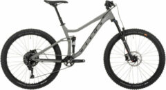 Grijze Vitus Mythique 27 VR Mountain Bike (2021) - Mountainbikes met vering